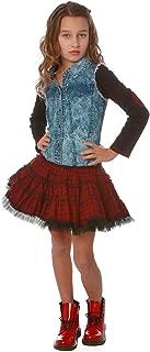 Ooh la la! Couture Red/Black Plaid Denim Twirly Dress