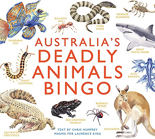 Australia's Deadly Animals Bingo: And Other Dangerous Creatures from Down Underの詳細を見る