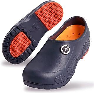 حذاء العمل ELM مقاوم للماء ، سدادة الشيف ، حذاء التمريض ، حذاء عمل الحديقة للنساء والرجال للجنسين