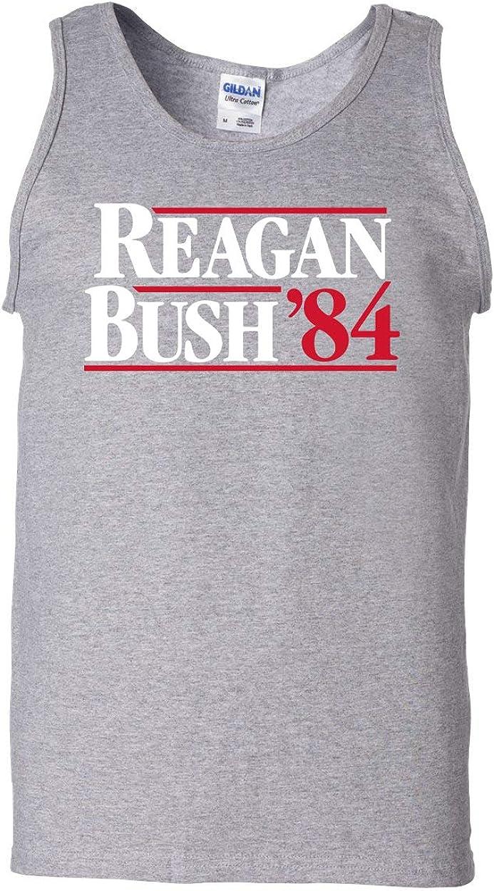 Trenz Shirt Company Ronald 2021 model Reagan Bush Max 41% OFF Tank Top Cool '84 Retro