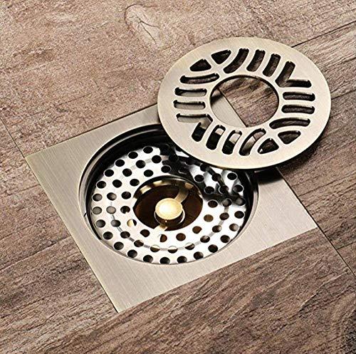 Makeyong Alle Koper Wasmachine Deodorant Insect Proof Anti-Water Grote Stroom Badkamer Vloer Afvoer Vierkant Koper Douche Drainage Keuken Balkon