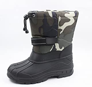 Ska-Doo Cold Weather Snow Boot 1319 Green Camo Size Toddler 6