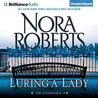 Luring a Lady audiobook cover art