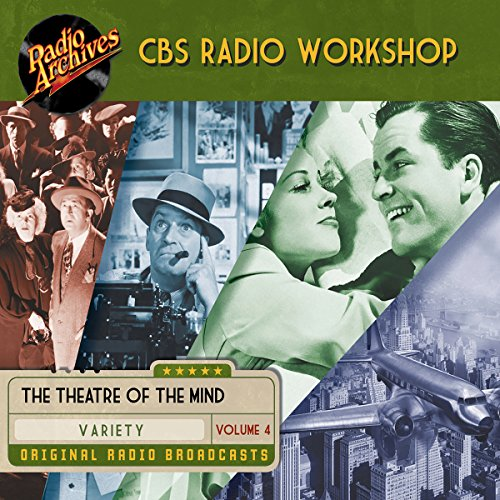 CBS Radio Workshop, Volume 4 copertina