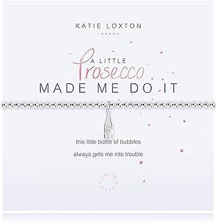 Katie Loxton a Little Spirits Womens Stretch Adjustable Band Fashion Charm Bracelet