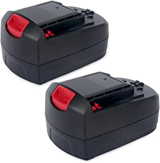 Biswaye 2Pack 18V Battery SB18C SB18A SB18B for Skil 18V Select System Cordless Tools 2810 2888 2895 2897 2898 4570 5850 5995 7305 9350, 3000mAh Ni-Cd