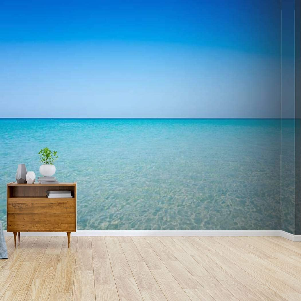 Challenge the lowest price of Indianapolis Mall Japan ☆ Kanworse Wallpaper Canvas Print Beach Adhesive sea Self Peel and
