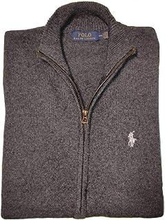 Polo Ralph Lauren Maglia in Cotone con Cerniera