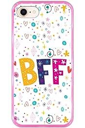 Dos chicas BFF mejores amigos para siempre silicona suave fundas