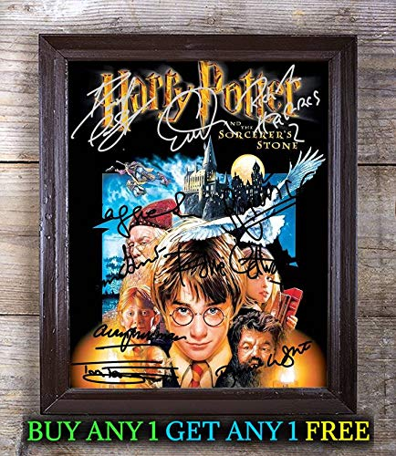 Harry Potter Film Cast Autographed Signed 8x10 Photo Reprint #29 Special Unique Gifts Ideas Him Her Best Friends Birthday Christmas Xmas Valentines Anniversary Fathers Mothers Day