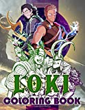 Loki Coloring Book: Loki Premium Unofficial Coloring Books For Adults, Teenagers Color To Relax