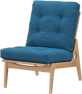マルニ木工 ハイバックアームレスソファ ウレタン樹脂塗装 ブルー(サガ) マルニ60 【2梱包】 4048-10-4163