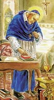 Gifts by Lulee, LLC Saint Alphonsus Liguori Patron Saint of The Arthritis Saint Laminated Holy Card