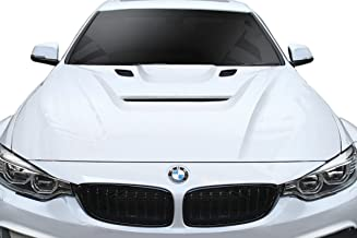 Vaero Aero Function Replacement for 2012-2018 BMW 3 Series F30 / 2014-2020 4 Series F32 AF-1 Hood (GFK) - 1 Piece