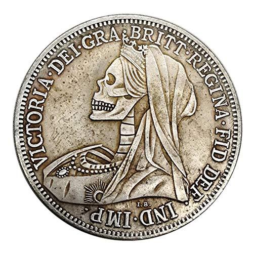 WXGY Coin,Gedenkm/ünze Pferdeschwert Silberm/ünze 1900 Silber Runde Silberm/ünze Gedenkm/ünze Kollection Geschenk /& Gedenkm/ünzen Sch/öne Geschenk