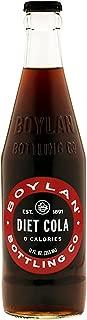 Boylan Diet Soda, Cane Cola, 12 fl oz, 12 Count