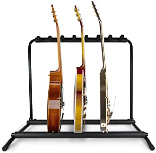 Pyle PGST43 Guitar Stand, Multi-Instrument Floor Stand Rack Holder