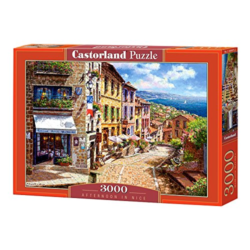 Castorland C-300471-2 Afternoon in Nice, Puzzle 3000 Teile, bunt