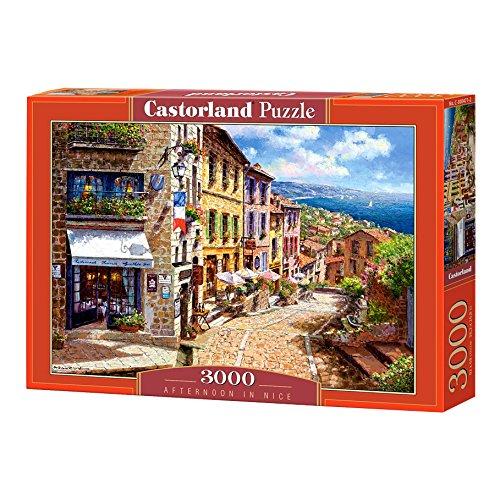 Castorland- Puzzle Pomeriggio in Nizza, Multicolore, C-300471-2