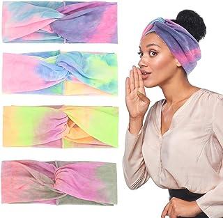 Women's Headbands Headwraps Hair Bands Accessories (4pcs-Gradient)