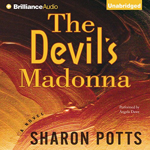 The Devil's Madonna audiobook cover art