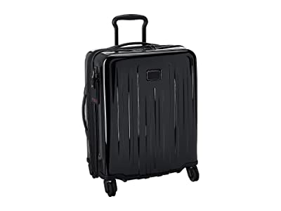Tumi V4 Continental Expandable 4 Wheeled Carry-On (Black) Carry on Luggage