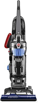 Hoover WindTunnel 3 High Performance Plus Bagless Corded Upright Vacuum UH72615, Blue