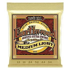 Guitarra acústica Modelo Earthwood BZ Medium Light 12-54 Fabricante de EU