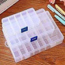 GREENLANS 15/10/24 szczeliny przezroczysta biżuteria manicure kolczyk pudełko do przechowywania paznokci zdejmowane etui r...