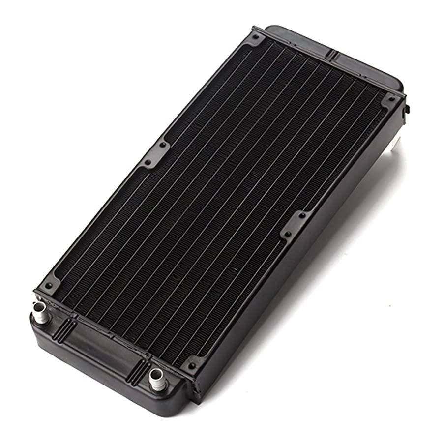 RDEXP 240mm Aluminum heat exchanger radiator for CPU PC CO2 water cool system