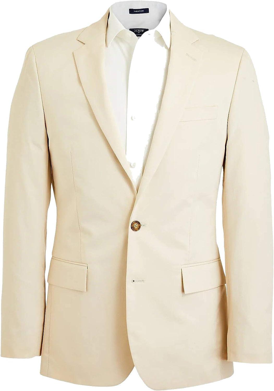 J. Crew Factory Men's Thompson Slim Fit Flex Chino Suit Jacket