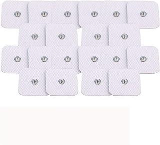 Qazxc Dispositivo de Terapia de insomnio, Decenas Herald estimulador Muscular eléctrico EMS acupuntura Masaje del Cuerpo de la máquina Digital de la Terapia Electroestimulador (Color : 20pcs Pads)