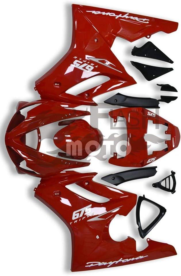 FlashMoto Fairings for Daytona High order 675 Painted 2007 2006 Recommendation Motorc 2008