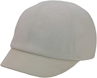Polyester Knit Jockey Cap Natural