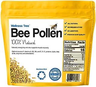 Bee Pollen Organic - 100% Raw Unprocessed Bee Pollen -Complete Protein Source - Vitamin B, Minerals, Amino Acids & Protein...