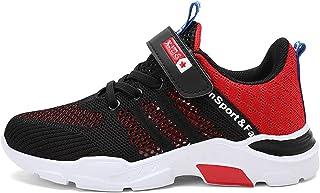 Chaussures de Sport pour Enfants Chaussures de Course pour garçons Chaussures d'été pour Enfants à Mailles Simples et Resp...