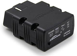 GZCRDZ KONNWEI KW902 Mini ELM327 Bluetooth Wireless OBD-II OBD2 Car Auto Diagnostic Scan Tools compatible with Android & W...
