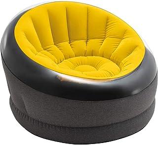 Intex 66582 - Sillón inflable Empire, color amarillo