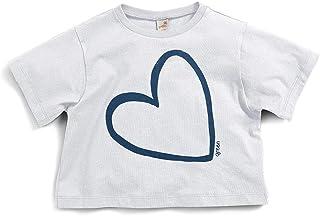 Camiseta Lua Nova Green Branco - Infantil Menina