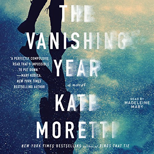 The Vanishing Year audiobook cover art