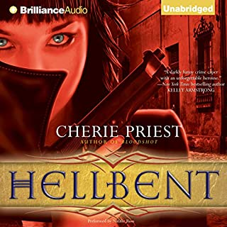 Hellbent                   By:                                                                                                                                 Cherie Priest                               Narrated by:                                                                                                                                 Natalie Ross                      Length: 10 hrs and 36 mins     248 ratings     Overall 4.4