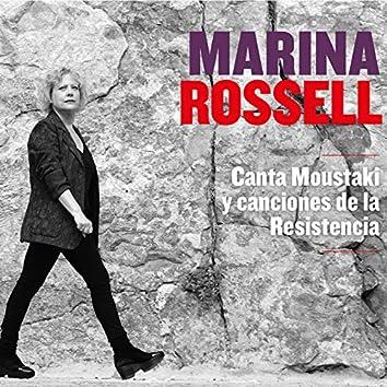 Canta Moustaki y Canciones de la Resistencia