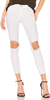 Free People Women's Busted Knee High Waist Skinny Jeans