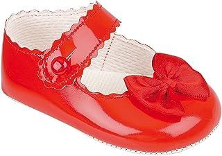 Baby M/ädchen Krabbelschuhe /& Puschen Rot rot 0-3 Monate Baypods