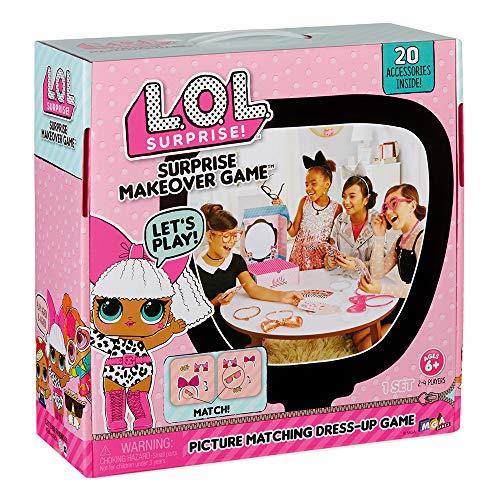 Grandi Giochi LLA02000, LOL Surprise Makeover Game, Multicolore