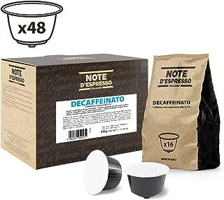 Note D'Espresso Decaffeinato, Capsule per caffè, compatibili con macchine Dolce Gusto, 7 g x 48