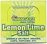 Twangerz Flavored Salt Snack Topping, Lemon Lime, 1 Gram Packets, 200 count