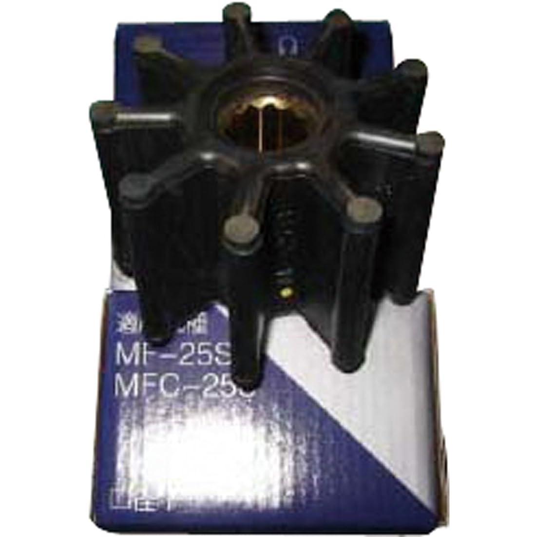 薄汚い座標好色な工進 ラバレックスポンプ用 インペラー MF25SRL