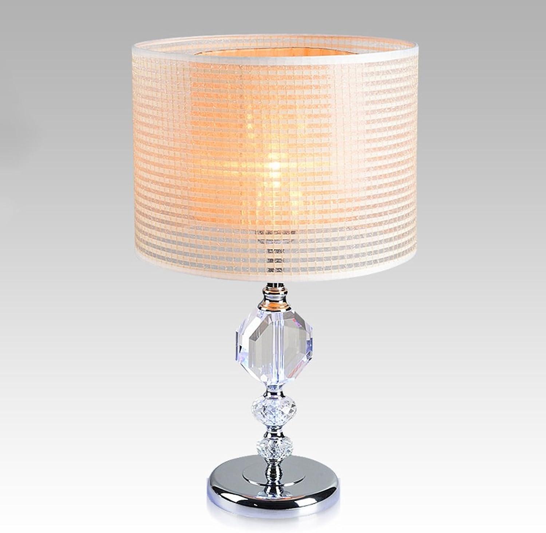 Tischlampe Kristall Tischlampe moderne einfache kreative Mode Wohnzimmer Schlafzimmer Hochzeit Nachttischlampe A B074TBGWC9 | Charmantes Design