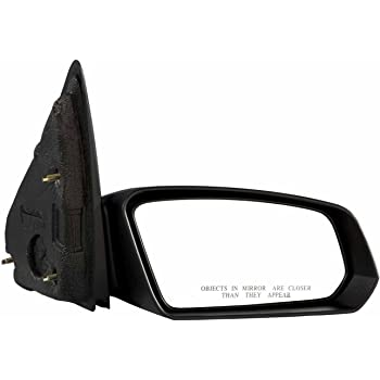 Passengers Power Side View Mirror Textured Replacement for Saturn Sedan 22726679